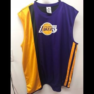 c110bf38120 adidas Shirts - Adidas Lakers reversible nba Jersey xl